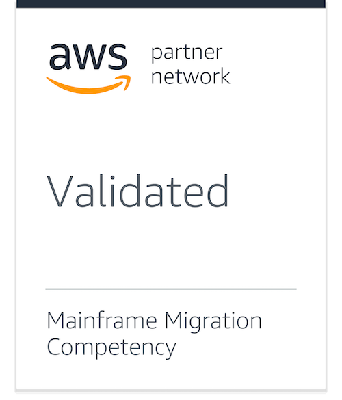 AWS Mainframe Migration Competency Partner badge