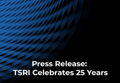 Press Release: TSRI Celebrates 25 Years and Expands Modernization Offerings